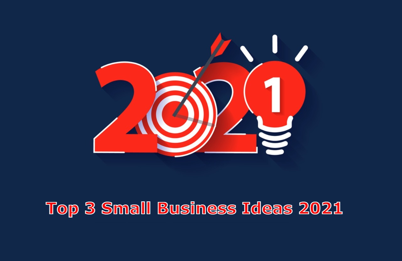 Top 3 Small Business Ideas 2021