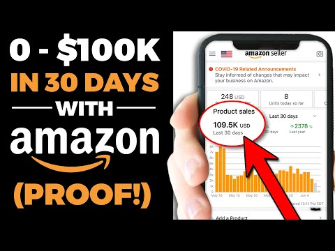 How To Go from 0 - $100K in 30 Days With Amazon FBA